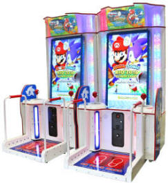 Mario & Sonic At The Rio 2016 Olympic Games Video Arcade Game From Sega