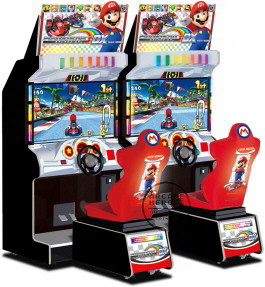Mario Kart Arcade GP 2 DX Video Arcade Game From Namco