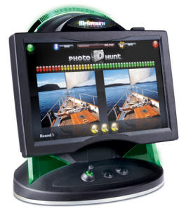 Megatouch Aurora GT Home Model - Widescreen Touchscreen Countertop Video Game From Merit Megatouch / AMI