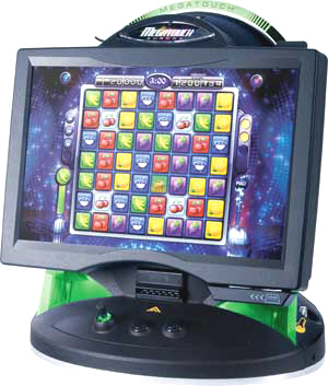 Amazing Megatouch Aurora WS Widescreen Touchscreen Free Play / Non Coin / Home  Model Video Game From
