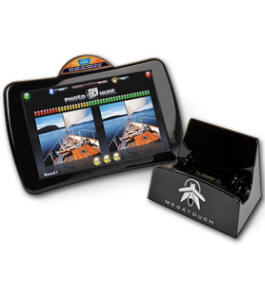 Megatouch Firefly Handheld Touchscreen Video Game From Merit / AMI Entertainment