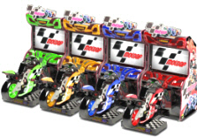 MotoGP Arcade Motorcycle Simulator Video Game From Raw Thrills