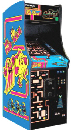 "Ms Pac Man 20th Anniversary Class Of 1981 Reunion 25"" Home Free Play Model"