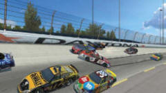 NASCAR Team Racing Video Arcade Driving Game From Global VR | Screenshot 2