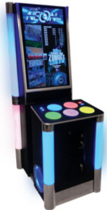 Neon-FM Music Rhythm Video Arcade Game From unit-e