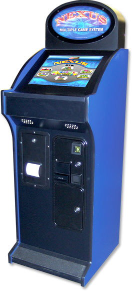 Nexus Upright Touchscreen Video Arcade Bar Game System