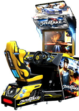 Overtake Arcade Street Racing Video Arcade Game | Wahlap IGS