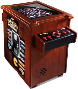 Pacman Table Game >> Cocktail Table Video Arcade Games Table Top Video Arcade Games