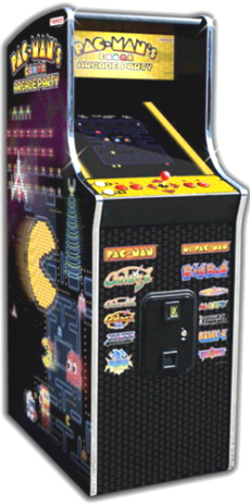 "Pac-Man's Arcade Party Video Arcade Game | Caberet Home 19"" Non-Coin Model 