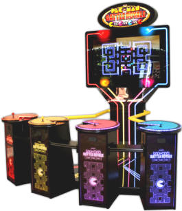 Pac Man Battle Royale Deluxe Video Arcade Game From Namco
