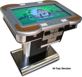 Big Tony's PokerKard Electronic Video Poker Machine High Top Bar Model From Benchmark Games