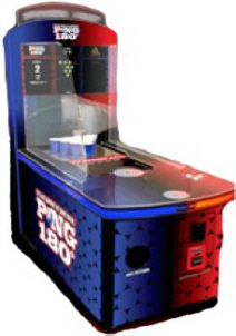 PONG 180 Beer Pong Bar Game Machine | Toccata