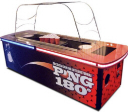 PONG 180 Deluxe Beer Pong Bar Game Machine | Toccata