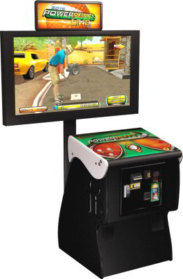Power Putt LIVE 2012 Mini Golfing Video Arcade Game From ITS