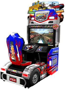 Power Truck S Arcade Special Truck Driving Video Game | Wahlap IGS