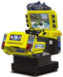 Power Boat SDX / Powerboat SDX - GT V2.0 Speedboat Video Arcade Motion Simulator Race Game From Injoy Motion