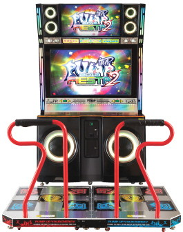 "Pump It Up Fiesta 2 TX 2013 - 50"" Cabinet Dance Arcade Machine From Andamiro"