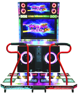 Pump It Up Fiesta EX 2011 CX Cabinet Mode Dance Arcade Machine From Andamiro