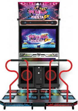 Pump It Up Fiesta EX 2011 - CX Cabinet Model Video Arcade Dance Game From Andamiro