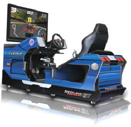 Redline GT Game Theater Simulator Model 8100 - Chicago Gaming