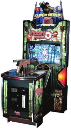Robin Hood Video Arcade Shooting Game / Video Ticket Redemption Game From Gamewax and ICE Games / ICE Games / Innovative Concepts In Entertainment