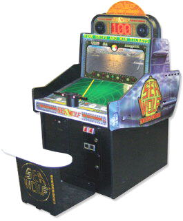 Sea Wolf The Next Mission Sitdown Video Arcade Game From Coastal Amusements