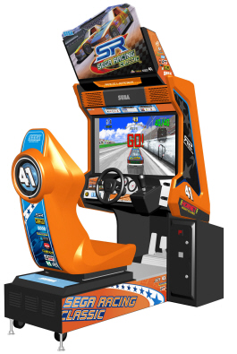 SEGA Racing Classic Video Arcade Driving Game From Sega Amusments