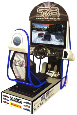 Sega Rally 3 / SR3 Standard SD Cabinet Video Arcade Racing Game From SEGA Arcade