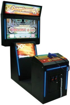 SharpShooter Video Arcade Shooting Game From Coastal Amusements