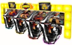 Sega Showdown Super Deluxe Arcade Racing Simulator Game