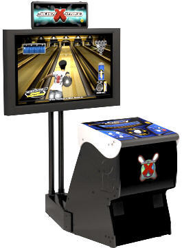 Silver Strike X Bowling Video Arcade Game
