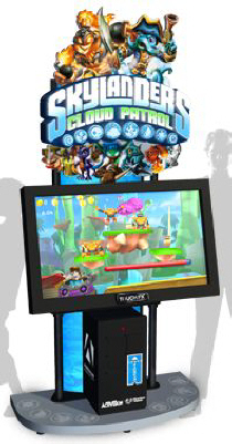 Skylanders Cloud Patrol Arcade Touchscreen Video Game From Adrenaline Amusments