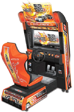 Speed Driver 3 Video Arcade Racing Game From Wahlap Technology