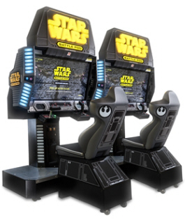 Star Wars Battle Pod Flat Screen Edition Video Arcade Game