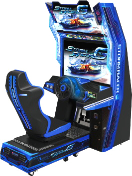 Storm Racer G Deluxe Video Arcade Racing Game | Wahlap Sega IGS