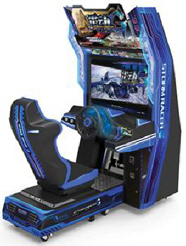 Storm Racer G Deluxe Video Arcade Racing Game From Wahlap Tech