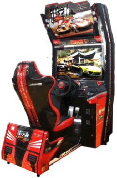 Storm Racer Video Arcade Racing Game | Wahlap / IGS
