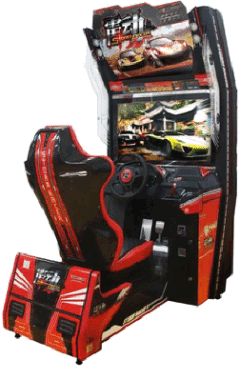 Storm Racer Video Arcade Racing Game From Wahlap Technology