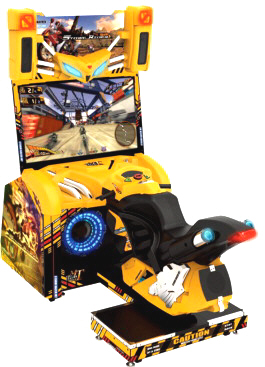 Storm Rider Deluxe Arcade Motorbike Racing Video Game From SEGA and Wahlap