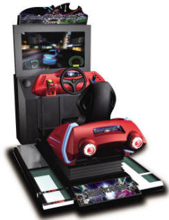 Street Racing Stars MDX-1 Mini Deluxe Video Arcade Motion Simulator Race Game From Injoy Motion