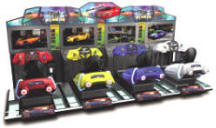Street Racing Stars MDX-1 Mini Deluxe Motion Simulator Arcade Racing Attraction Video Game From Injoy Motion