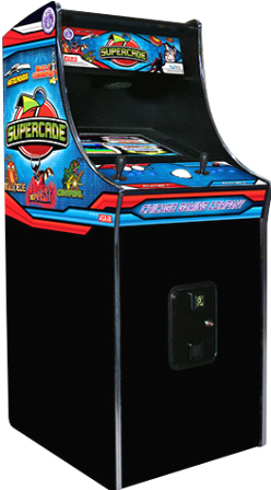 SuperCade Video Arcade Game - Classic Video Arcade Game From Chicago Gaming