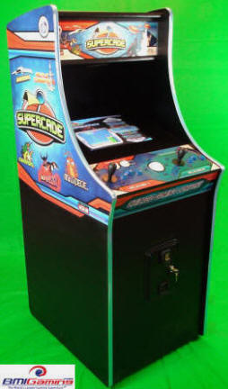 SuperCade Video Arcade Game - Classic 80's Multi-Game Video Games Arcade Machine |  By Chicago Gaming