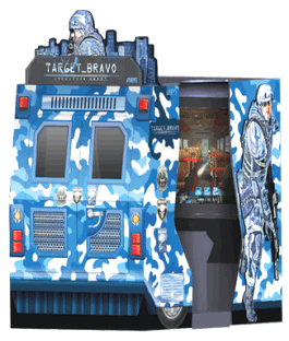 Target Bravo Operation Ghost Arcade Video Game From SEGA