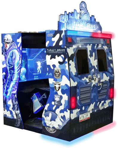 "Target Bravo Operation Ghost 55"" Video Arcade Game Theater From SEGA"