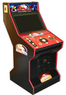 """Target Toss Pro Bags Lawn Darts 26"""" LCD Cabinet Model From FunCo / Incredible Technologies"""