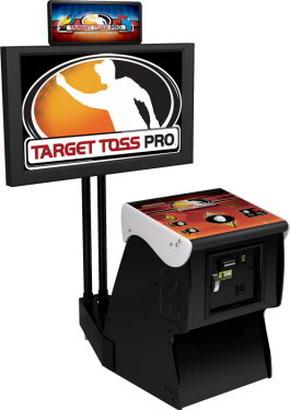 Target Toss Pro : Bags  and Lawn Darts Video Arcade Game From Incredible Technologies