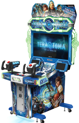 TeraToma : The Last Rebellion Video Arcade From Wahlap