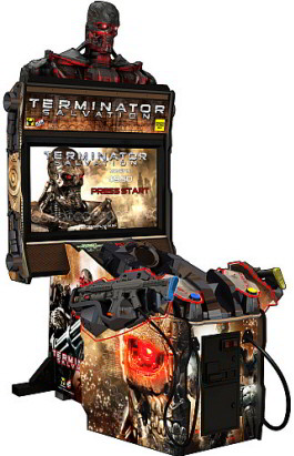 "Terminator Salvation Arcade 42"" Model Video Game - Coin Operated From PlayMechanix / Raw Thrills / Betson"