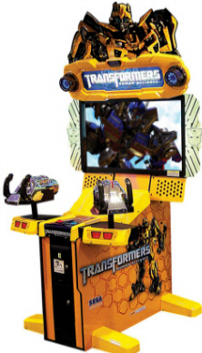 Transformers : Human Alliance Video Arcade Game From SEGA